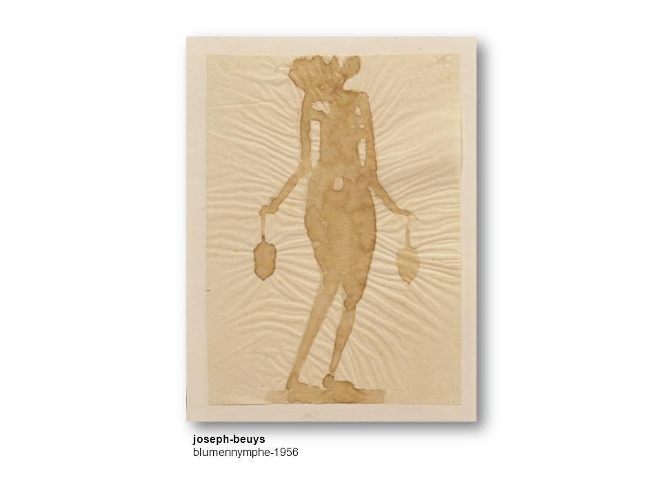 joseph-beuys blumennymphe-1956