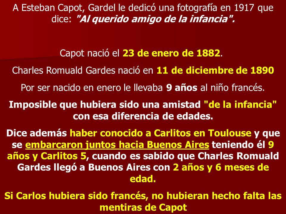 Capot nació el 23 de enero de 1882.