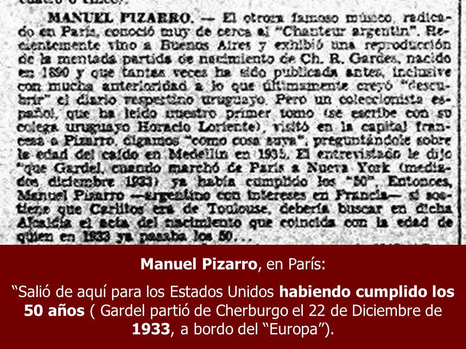 Manuel Pizarro, en París: