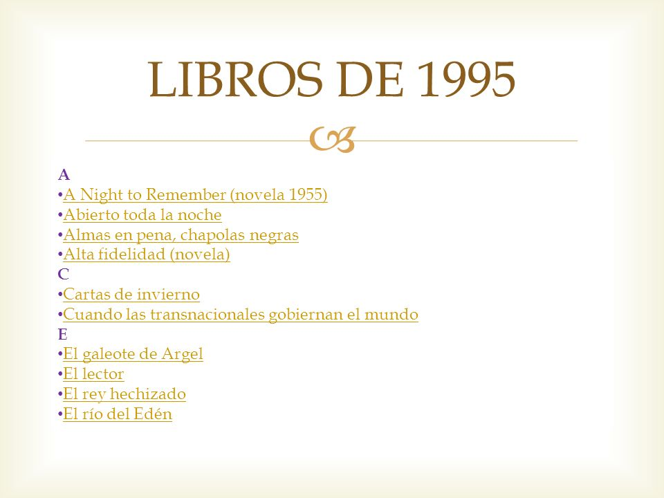 LIBROS DE 1995 A A Night to Remember (novela 1955)