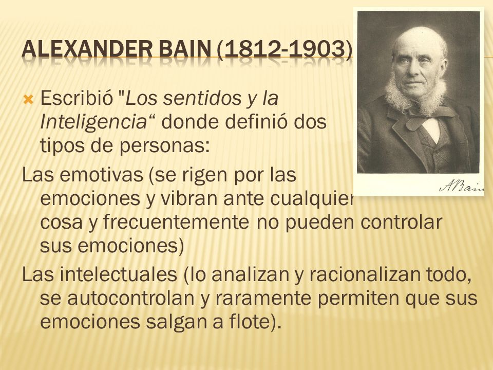 Alexander Bain (1812-1903)