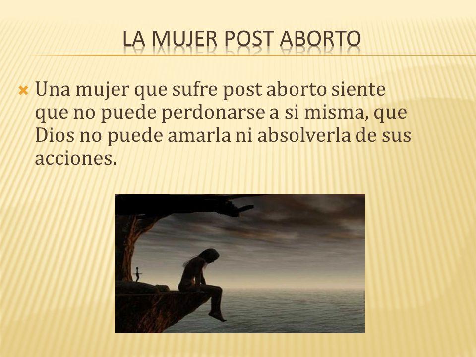 La mujer post aborto
