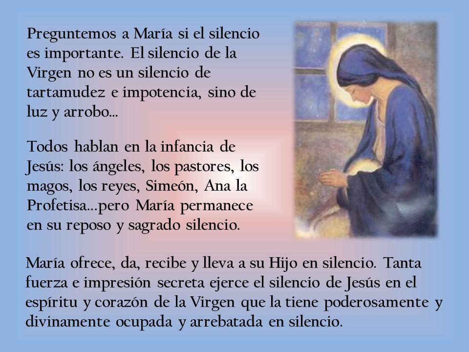 Preguntemos a María si el silencio es importante
