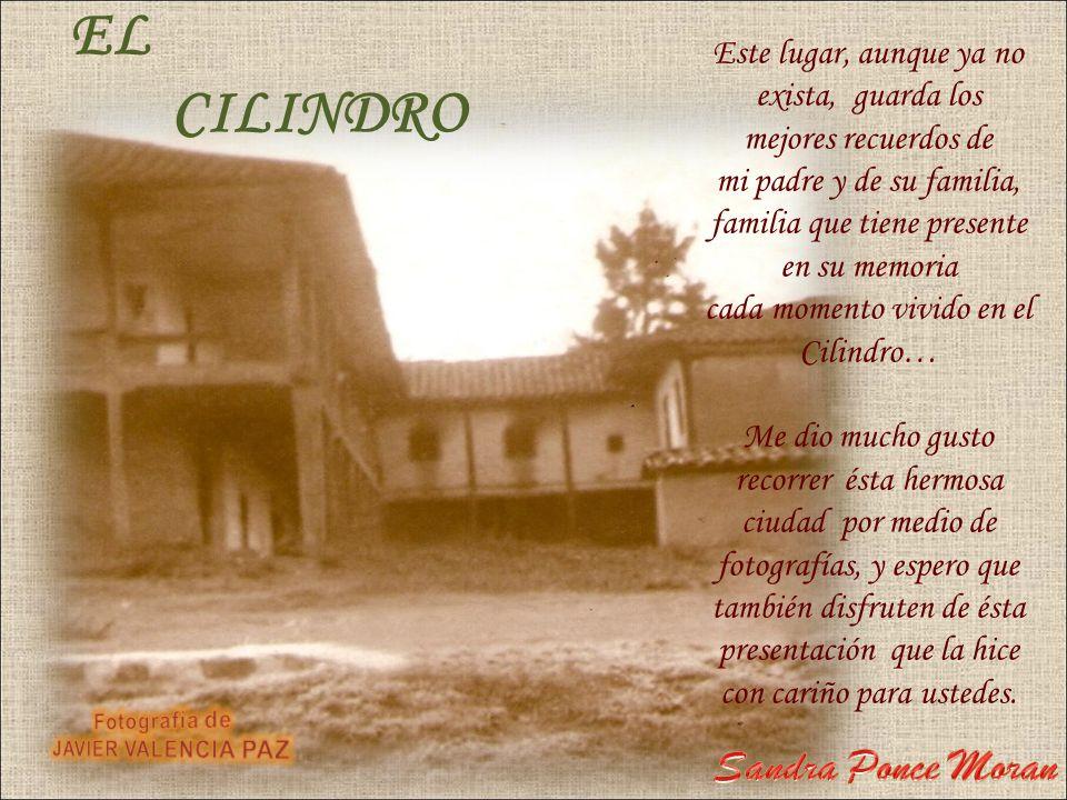 EL CILINDRO Sandra Ponce Moran