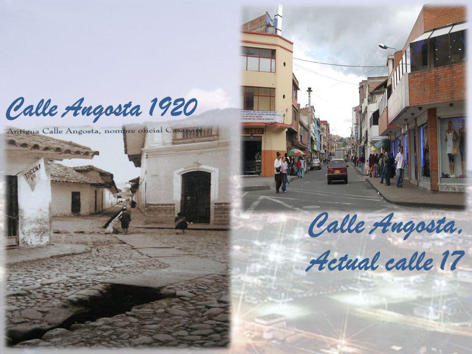 Calle Angosta, Actual calle 17