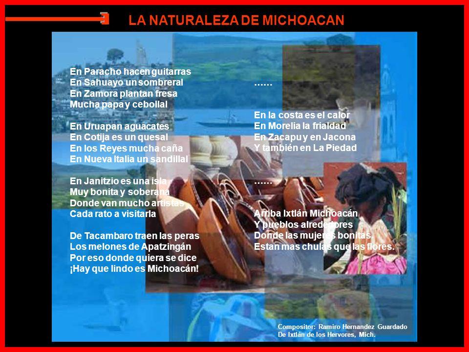 E LA NATURALEZA DE MICHOACAN En Paracho hacen guitarras