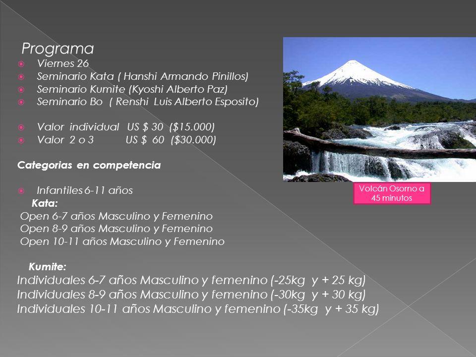 Volcán Osorno a 45 minutos