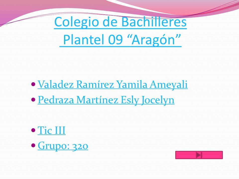 Colegio de Bachilleres Plantel 09 Aragón