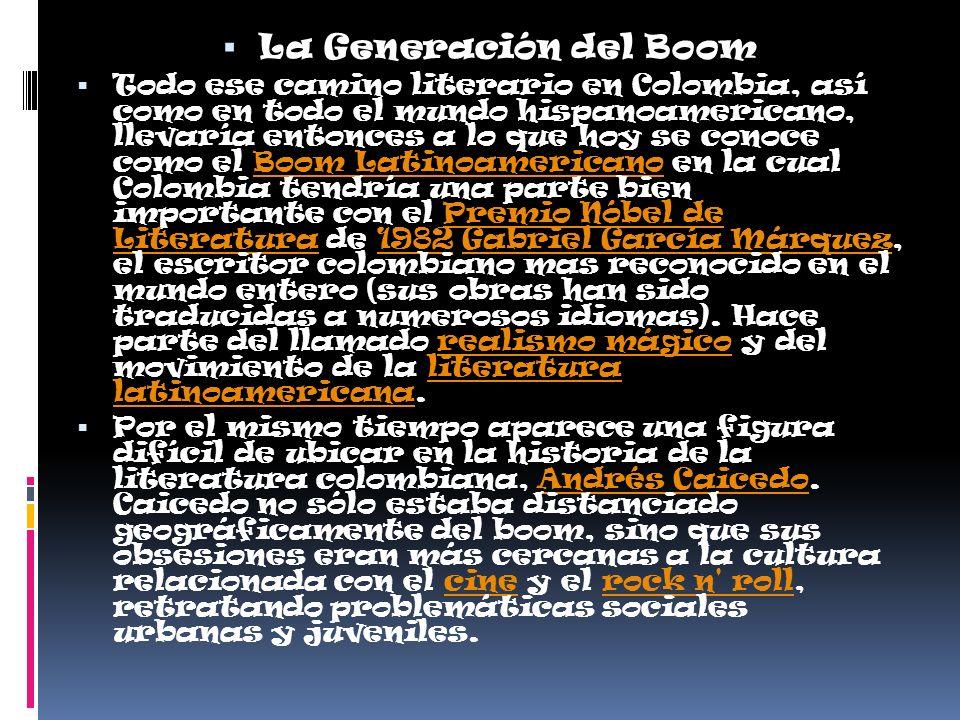La Generación del Boom
