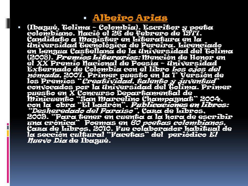 Albeiro Arias