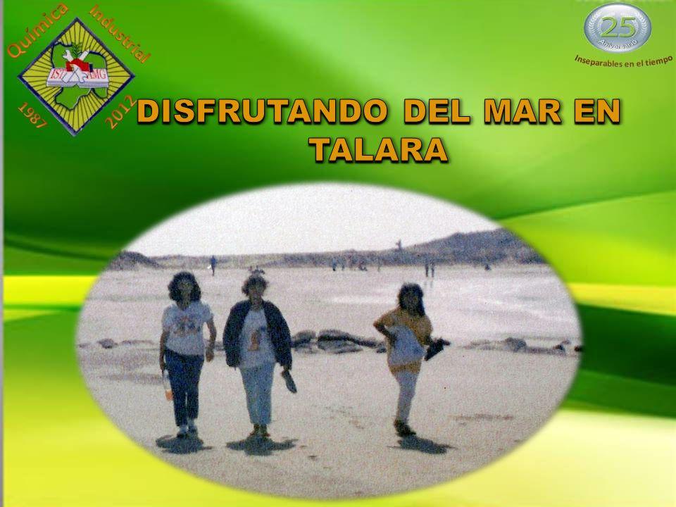 DISFRUTANDO DEL MAR EN TALARA