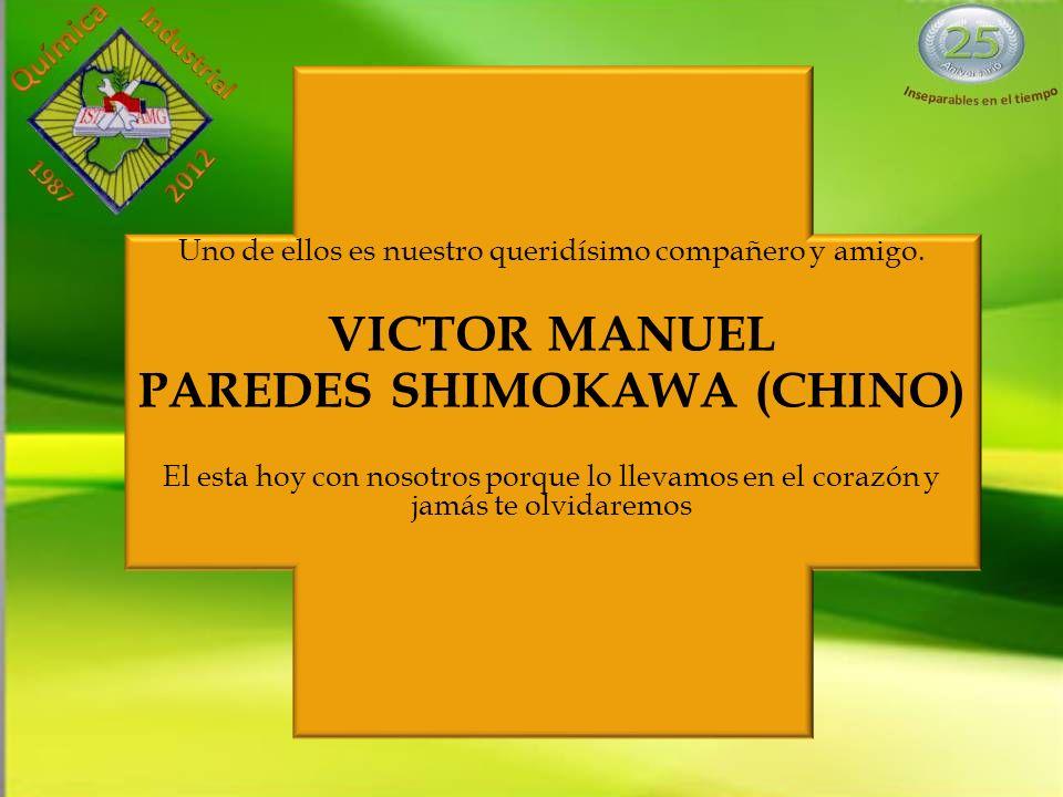 PAREDES SHIMOKAWA (CHINO)