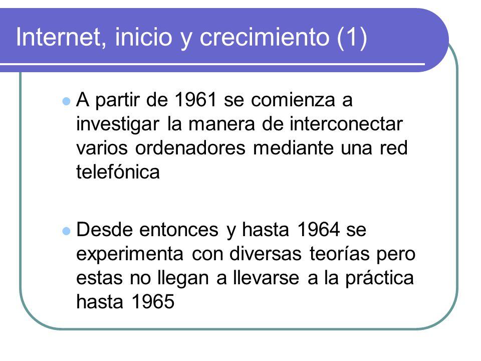 Internet, inicio y crecimiento (1)