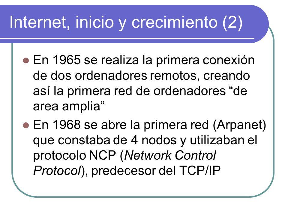 Internet, inicio y crecimiento (2)