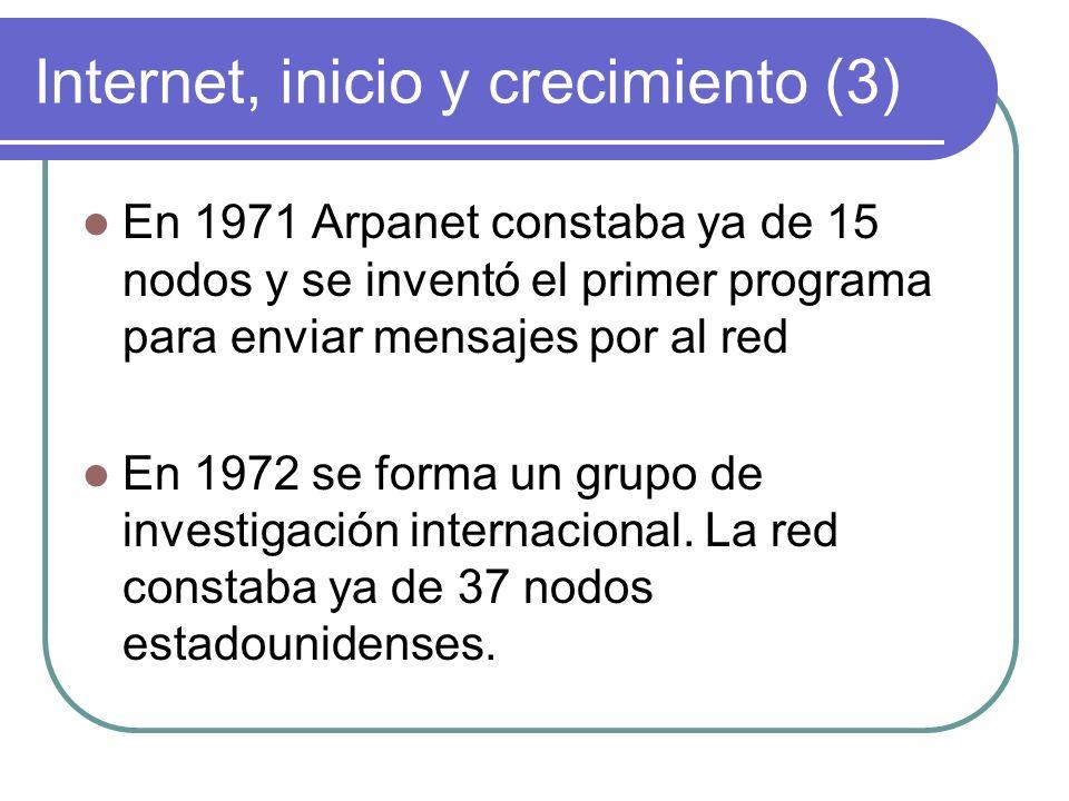Internet, inicio y crecimiento (3)