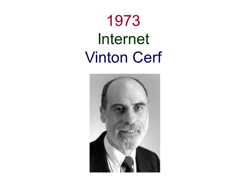 1973 Internet Vinton Cerf