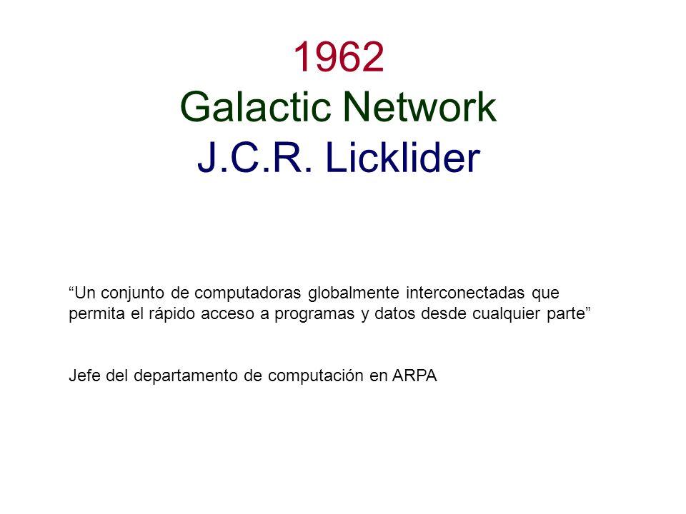 1962 Galactic Network J.C.R. Licklider
