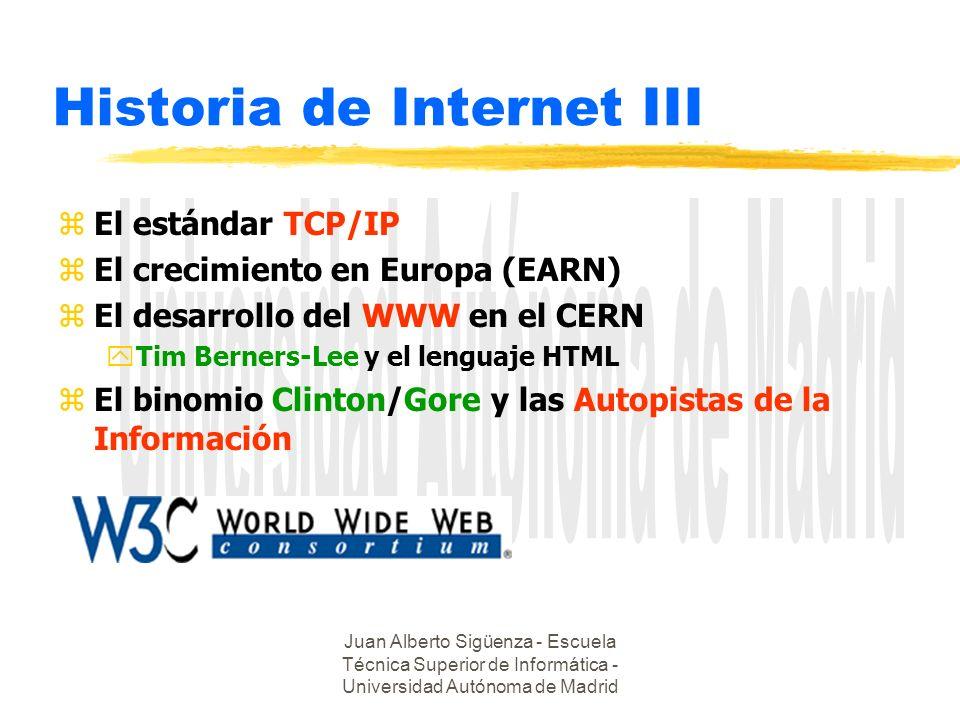 Historia de Internet III