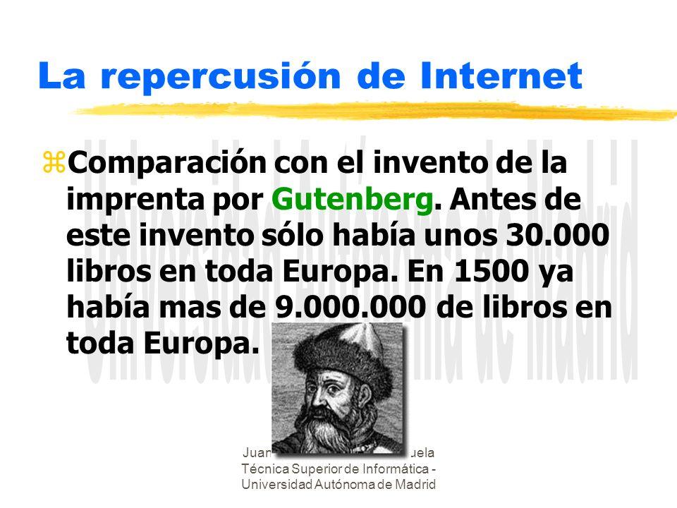 La repercusión de Internet
