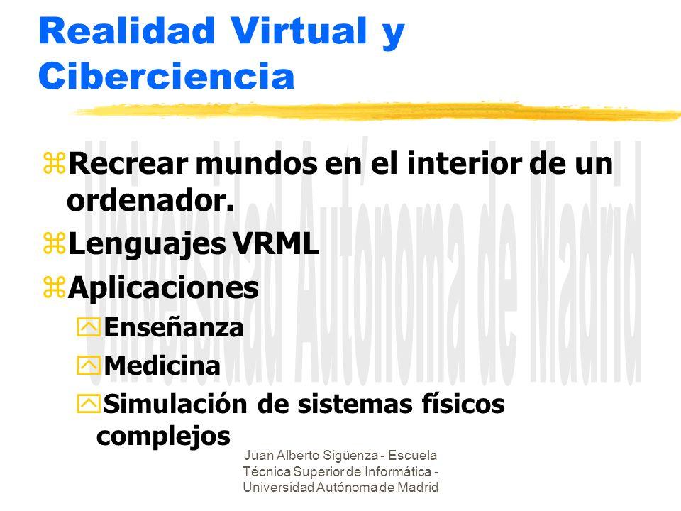 Realidad Virtual y Ciberciencia