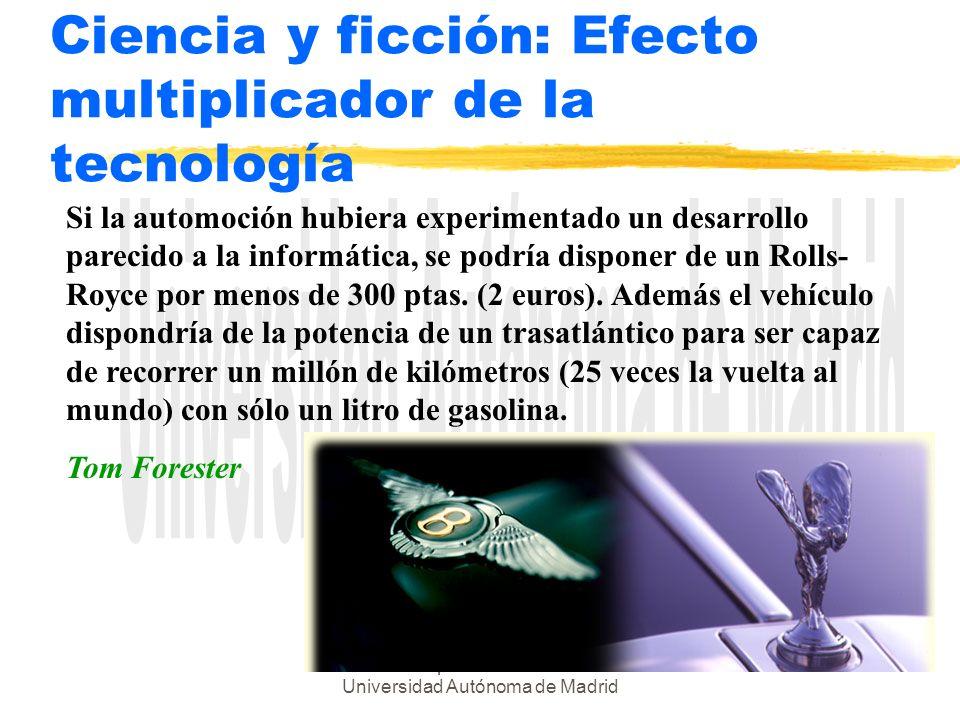 Ciencia y ficción: Efecto multiplicador de la tecnología