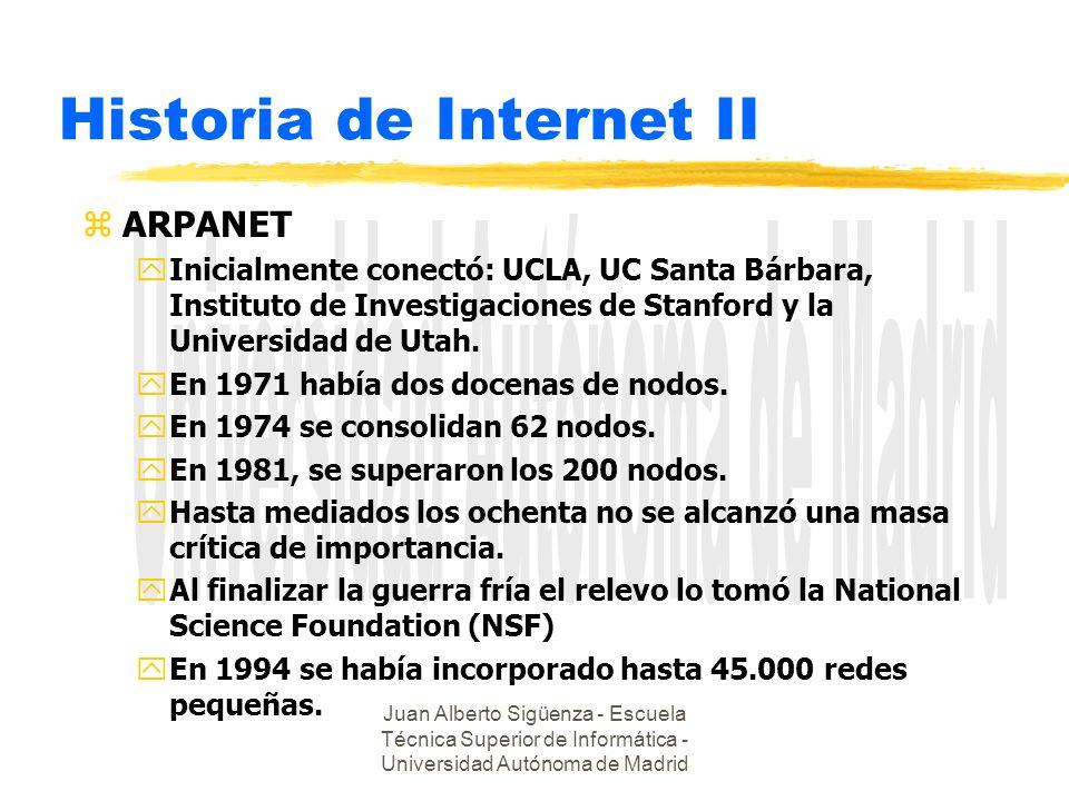 Historia de Internet II