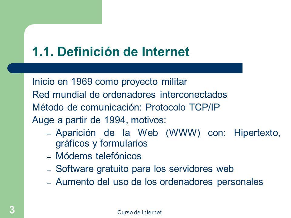 1.1. Definición de Internet