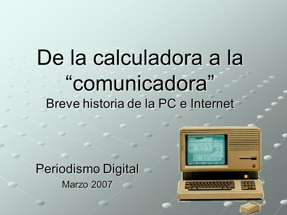 Periodismo Digital Marzo 2007