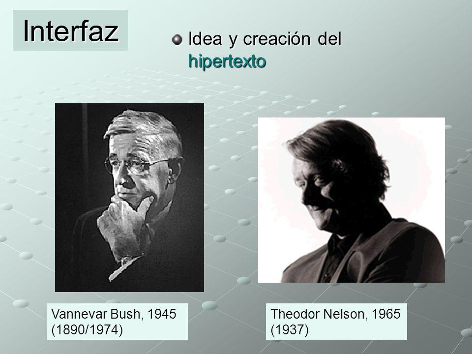 Interfaz Idea y creación del hipertexto
