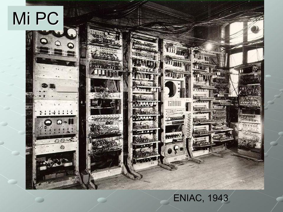 Mi PC ENIAC, 1943