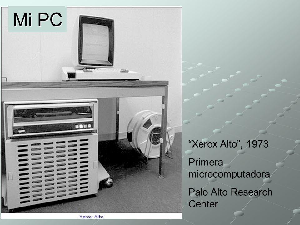 Mi PC Xerox Alto , 1973 Primera microcomputadora