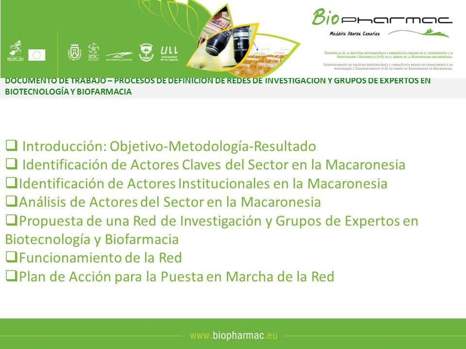 Introducción: Objetivo-Metodología-Resultado