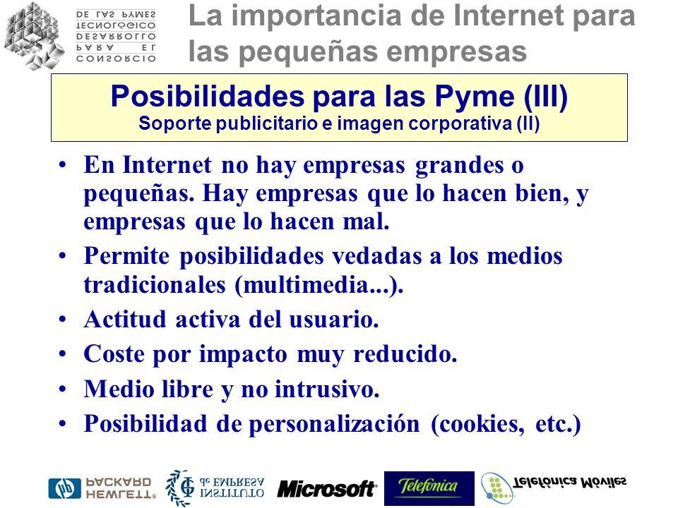 Posibilidades para las Pyme (III) Soporte publicitario e imagen corporativa (II)