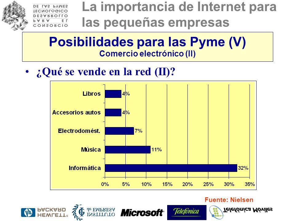 Posibilidades para las Pyme (V) Comercio electrónico (II)