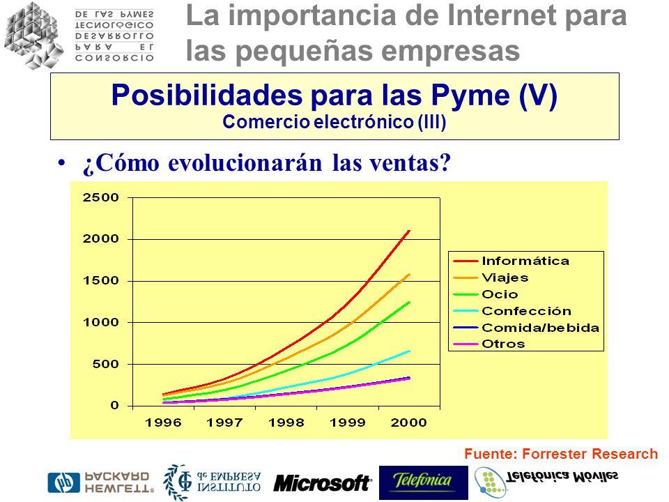 Posibilidades para las Pyme (V) Comercio electrónico (III)