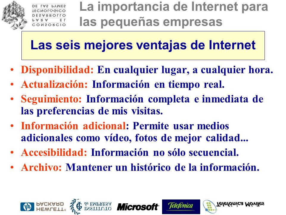Las seis mejores ventajas de Internet
