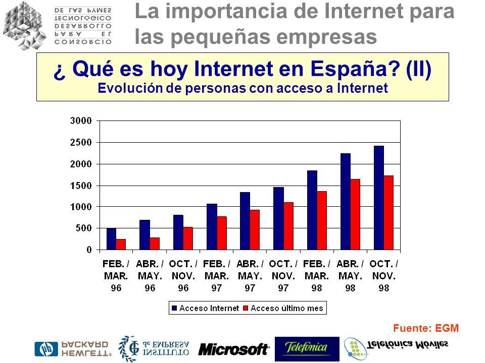 ¿ Qué es hoy Internet en España