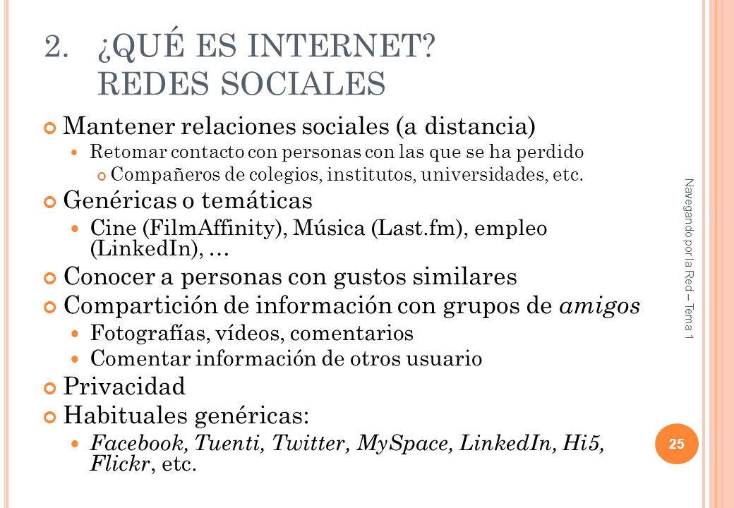 ¿QUÉ ES INTERNET REDES SOCIALES