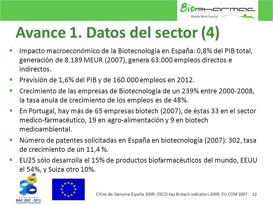 Avance 1. Datos del sector (4)
