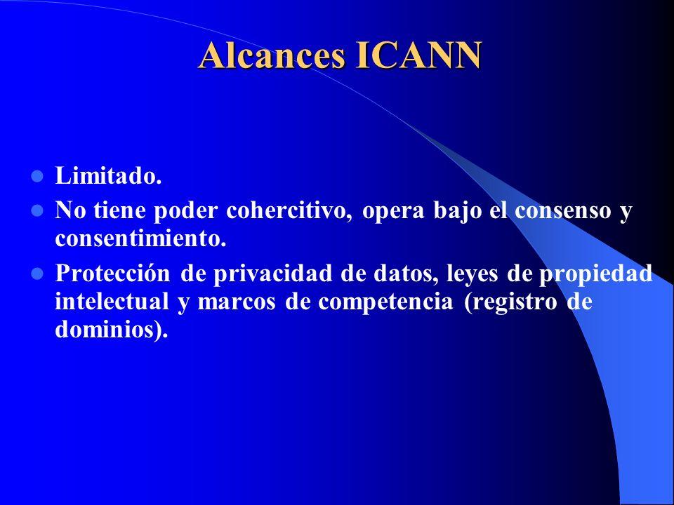 Alcances ICANN Limitado.