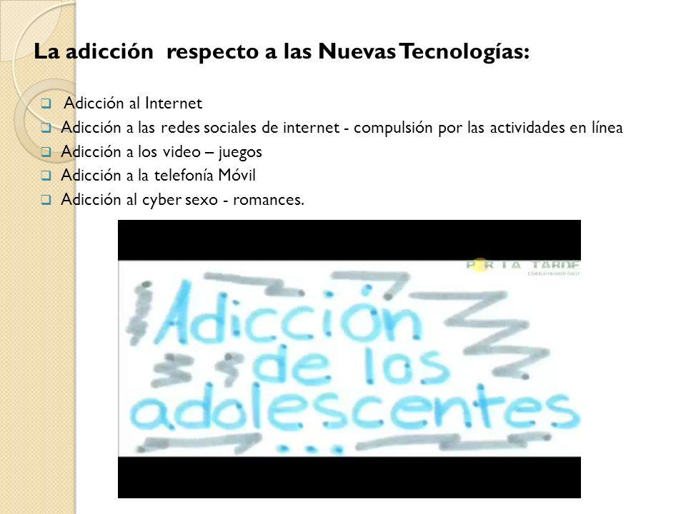 La adicción respecto a las Nuevas Tecnologías: