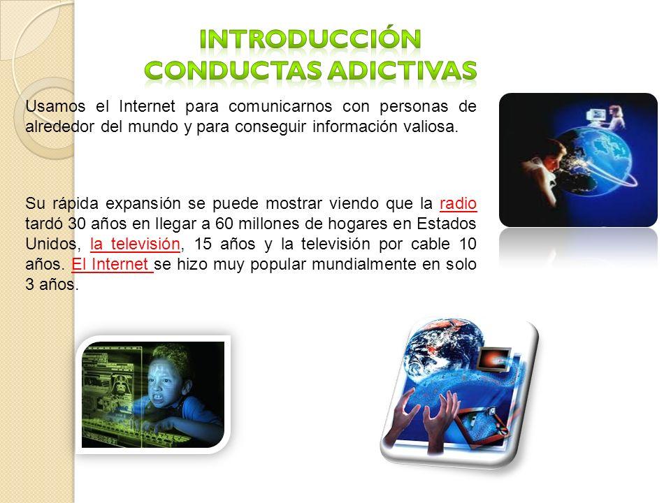 introducción CONDUCTAS Adictivas