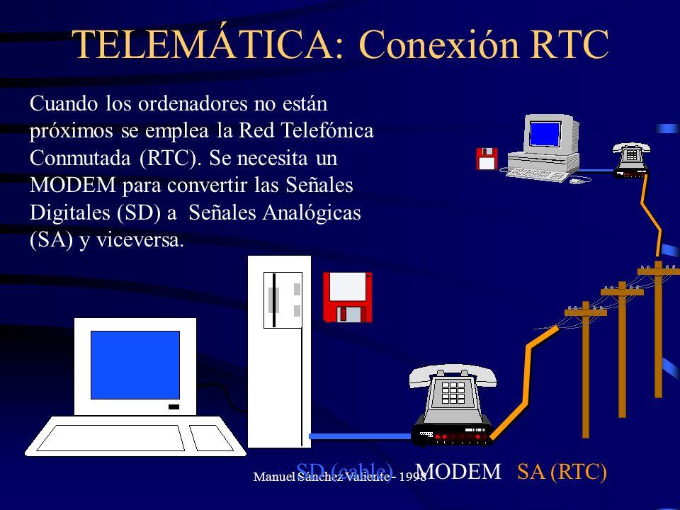 TELEMÁTICA: Conexión RTC