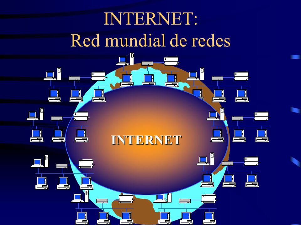 INTERNET: Red mundial de redes