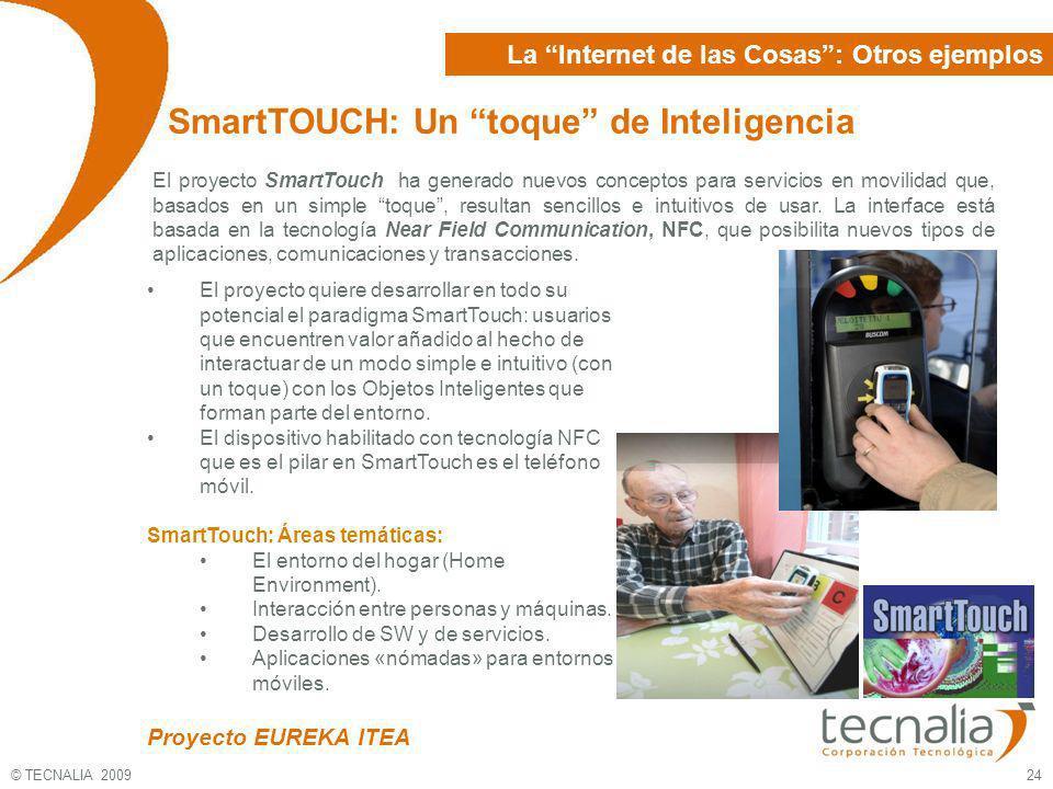 SmartTOUCH: Un toque de Inteligencia