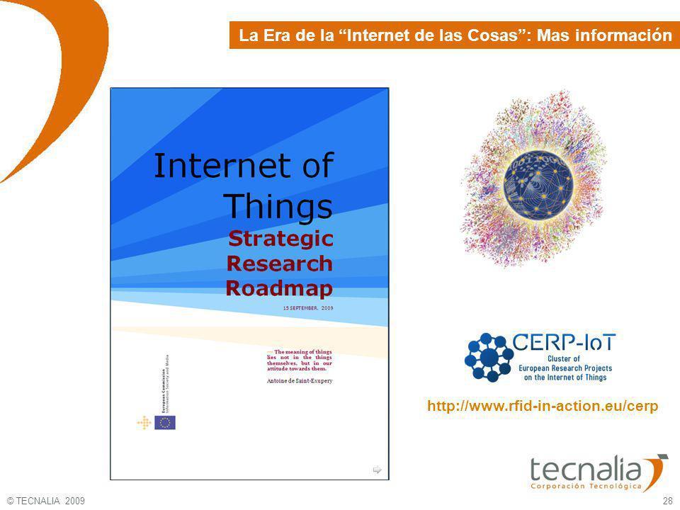La Era de la Internet de las Cosas : Mas información