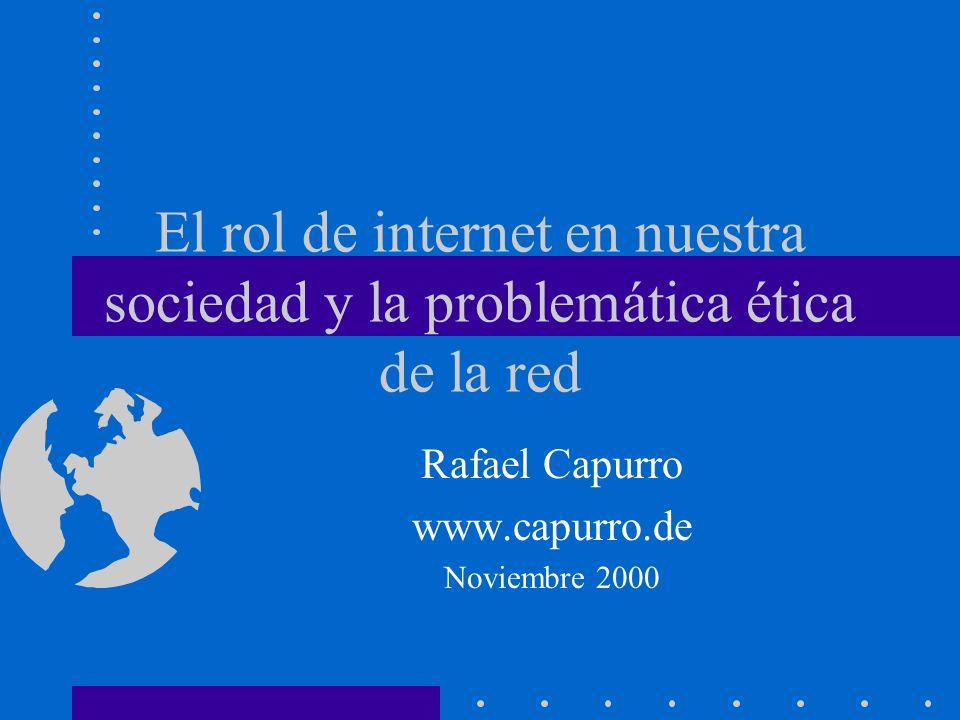 Rafael Capurro www.capurro.de Noviembre 2000