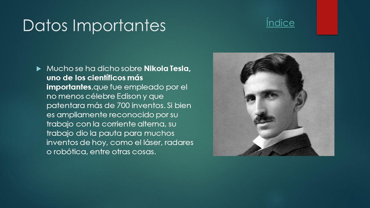 Biografia De Nicolas Tesla Tesla Image