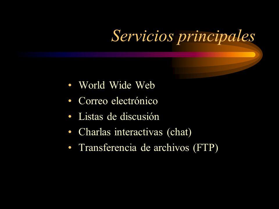 Servicios principales