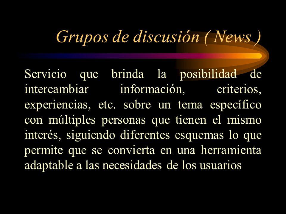 Grupos de discusión ( News )